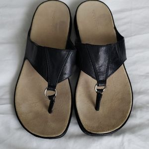 Rockport black Leather Sandals